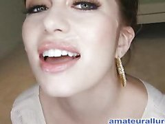Miley is eighteen years old, very cute and that babe has returned for her first cum facial ever! This is the second time Miley has visted AmateurAllure.com, and I am going get my discharged at her this time. That Babe has an amazing, constricted body and